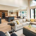 a modern design living room with condo insurance